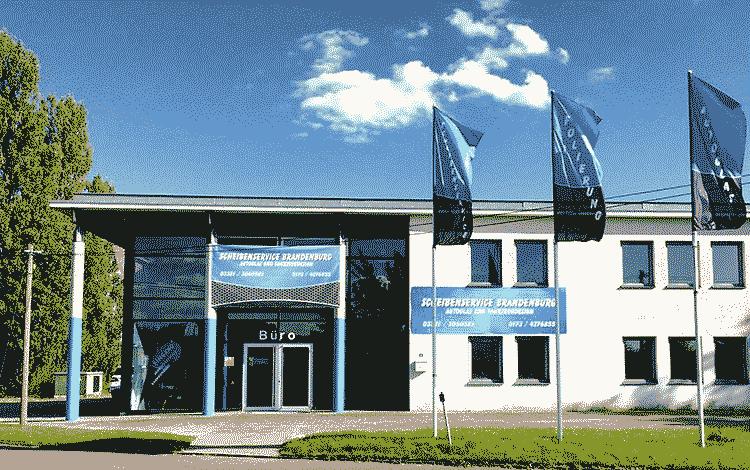 Aussenansicht Scheibenservice Brandenburg
